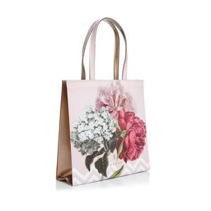 NWT Ted Baker London Palace Gardens Pink Tote
